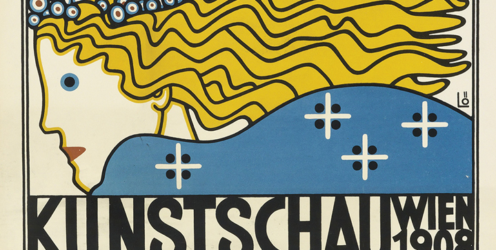 Modernist Posters ⎜April 24Highlights include Austrian Secession and Wiener Werkstatte examples, such as Bertold Loffler's exhibition poster Kunstschau Wein from 1908.
