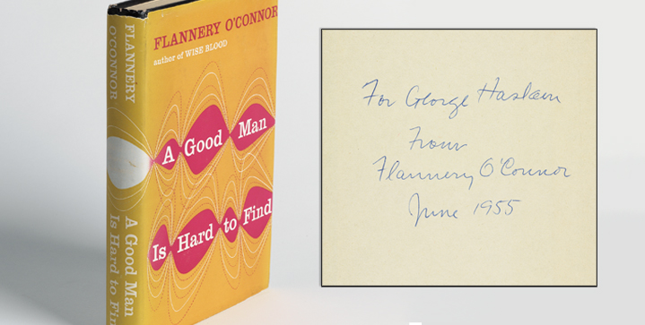 Swann's June 19 auction of 19th & 20th Century Literature resulted in a number of auction records, including top prices for Flannery O'Connor first editions and Rex Stout titles. O'Connor's A Good Man is Hard to Find, pictured, brought a record $9,375.