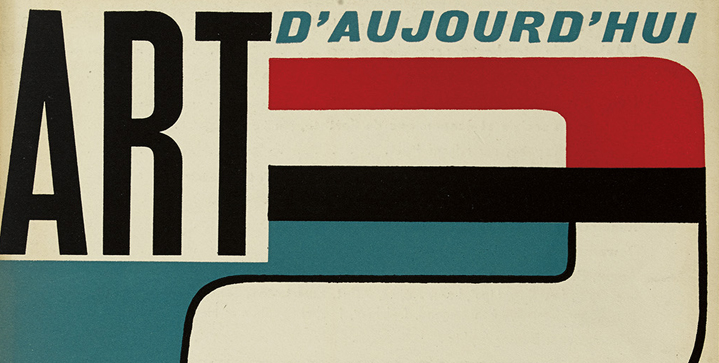Always prized in our Art, Press & Illustrated books sales are scarce modern art journals like Art d'Aujourd'hui, an important mid-century journal devoted to all aspects of contemporary art.
