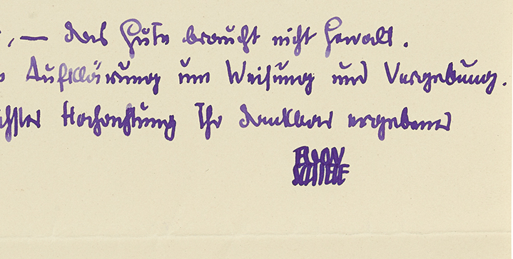 Bidding was strong across all categories at last week's Autographs auction, resulting in a sell-through rate of 94%. An autograph letter signed by Egon Schiele from October 1918, in which he talks about military interference in his art, was the sale's top lot at $33,800—an auction record for a letter by Schiele.