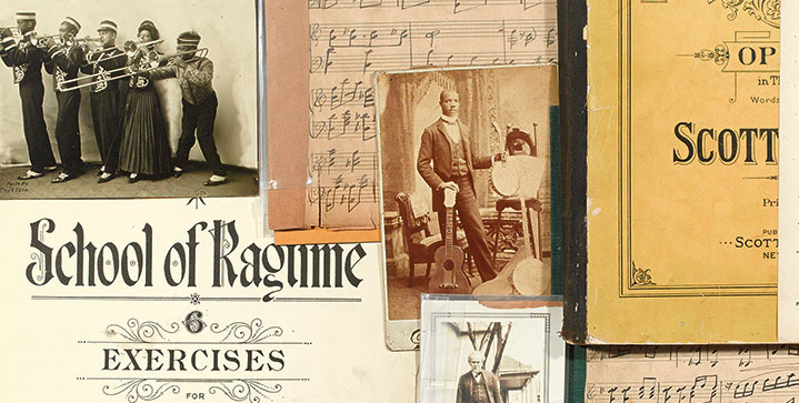 Swann's March 2015 auction saw a small but exceptional archive of ragtime-related material, including manuscripts related to Scott Joplin bring $50,000, as did a manuscript copy of the Qur'an from the Yattara family.