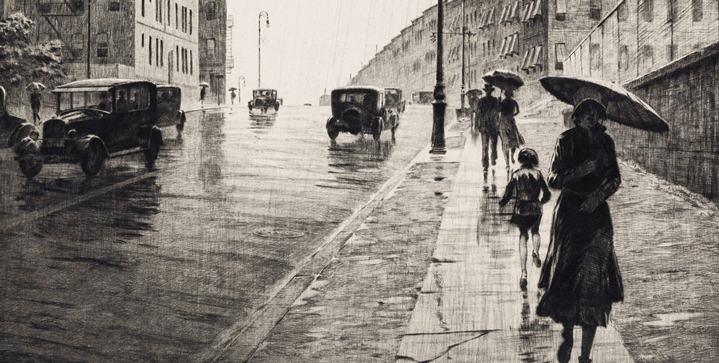 The Old Master Through Modern Prints auction on April 28 features an excellent selection of prints by beloved modern American masters Martin Lewis, Thomas Hart Benton, Louis Lozowick, among others.