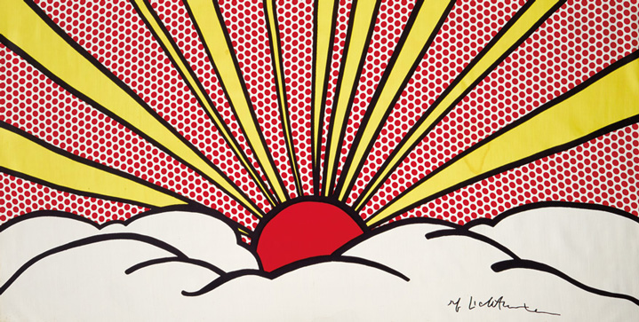 Our May 12 sale of Contemporary Artfeaturedseveral sought-after works by Roy Lichtenstein. His silk panel Sunrise, realized $31,200, and color screenprintSweet Dreams, Baby! sold for $125,000.
