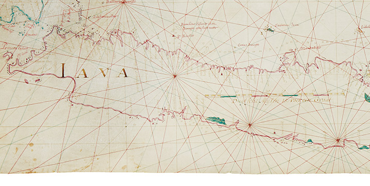 Maps & Atlases, Natural History & Color Plate Books | May 26This sale is headlined by an extremely scarce manuscript map of the Java Sea, Bali, and parts of Borneo, Sumatra and Sulawesi by Isaak de Graaf,officialcartographer for theDutch East India Company.