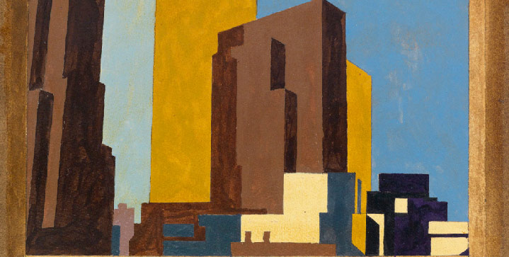 Headlining our American Art auction on June 9 is Charles Sheeler's New York #3 – Study. HighlightsbyPaul Cadmus, Miguel Covarrubias, and Guy Wiggins, among others, areto be featured.