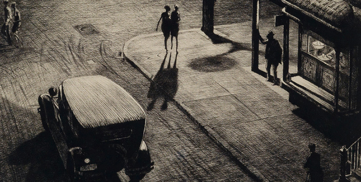 Our fall sale of 19th & 20th Century Prints & Drawings featured a run of prints by Martin Lewis. His 1928 drypoint, Relics (Speakeasy Corner), realized $52,500.