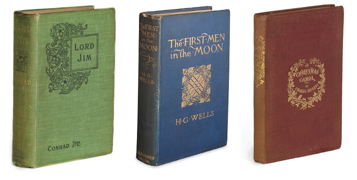 19th & 20th Century Literature | November 10Available signed first editionsinclude, but are not limited to, titles by Samuel Beckett, Joseph Conrad andH.G. Wells. First editionsby Charles Dickens, Bram Stoker and William Faulknerare in abundance.