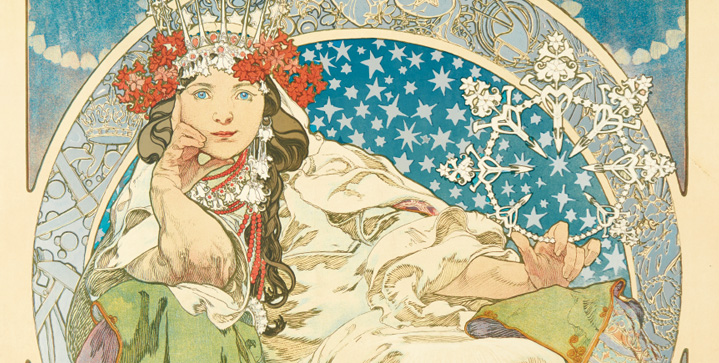 On January 26 we will offer the largest private collection of works by Alphonse Mucha ever to come to auction. Posters, original sketches and graphic items trace the evolution of the Art Nouveau master's career.