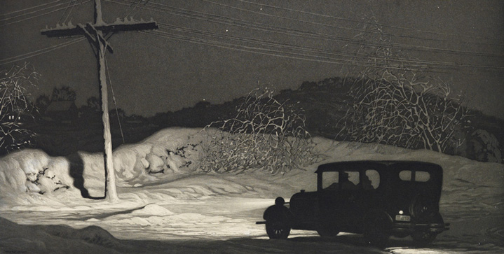 Our first Prints & Drawings sale of the year saw a 1932 aquatint by Martin Lewis realize $42,500, and Edward Hopper's 1921 etching Evening Wind bring $149,000.