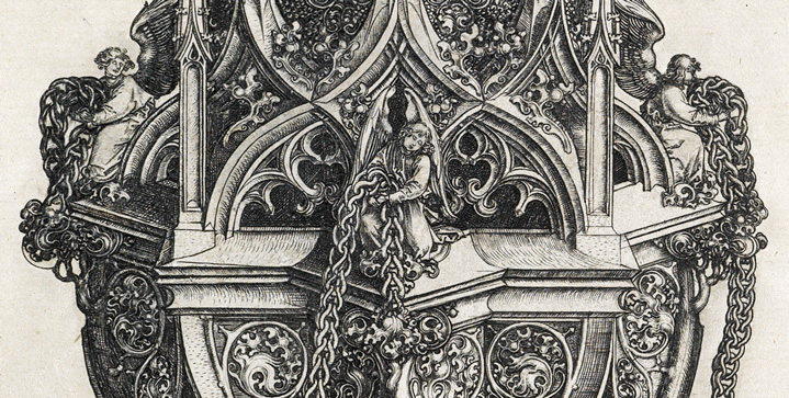 Old Master Through Modern Prints | May 2Thissale features theastoundingly detailed engraving, A Censer,circa 1485, by Martin Schongauer.Scholars believe that Schongauer made this intricate work for the sole purpose of showing off his technical virtuosity.