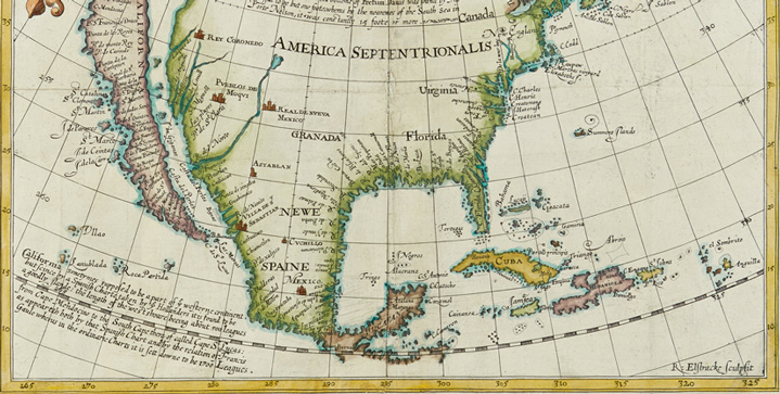Maps & Atlases, Natural History & Color Plate Books | June 7Among other treasures, the sale promisesa trove of rare early maps of the United States, including Henry Briggs'The North Part of America,1625,which depicts California as an island.