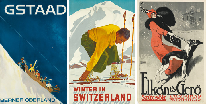 The first Vintage Posters sale of the year will offer a selection from the Gail Chisholm collection; a powerful concentration of ski posters from around the world; and well-known Art Nouveau images.