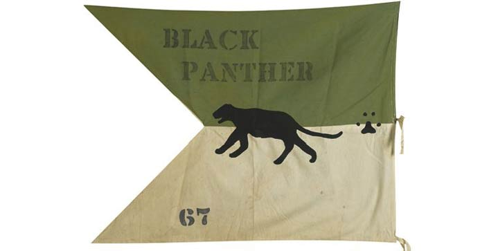 The market has been strong for Black Pathers material, and one of the top lots in our 2013 auction was an early cloth banner from Lowndes County, Alabama, 1967, which realized $43,200.
