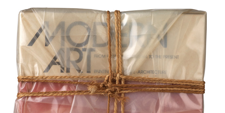The cover lot for our November 16 sale, Christo's 1978 Wrapped Book Modern Art, sold for $22,500, following works by Jean Arp and Gerhard Richter that each brought $50,000.