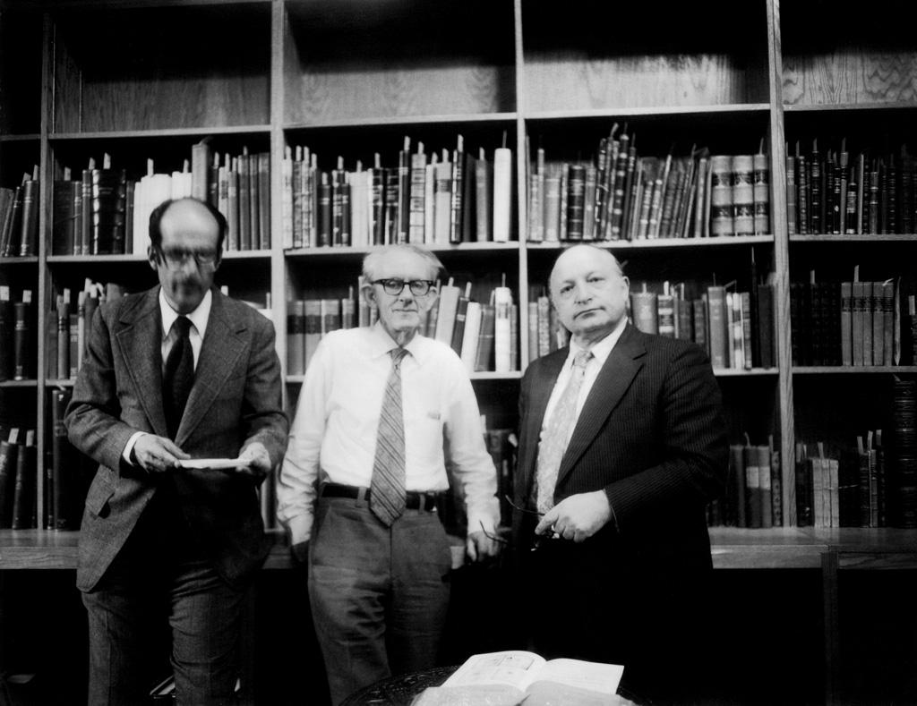 George S. Lowry, Edwin Halbmeier and Maury Bromsen, 1978