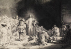 $90,000 for Rembrandt's Hundred Guilder Print.