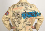 Wearable Art: Basquiat Tags Jackets