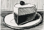 Thiebaud's Slice of Pie: Slices an Auction Record at $13,125