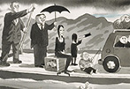 Charles Addams: A Cartoonist of Incongruous Charm