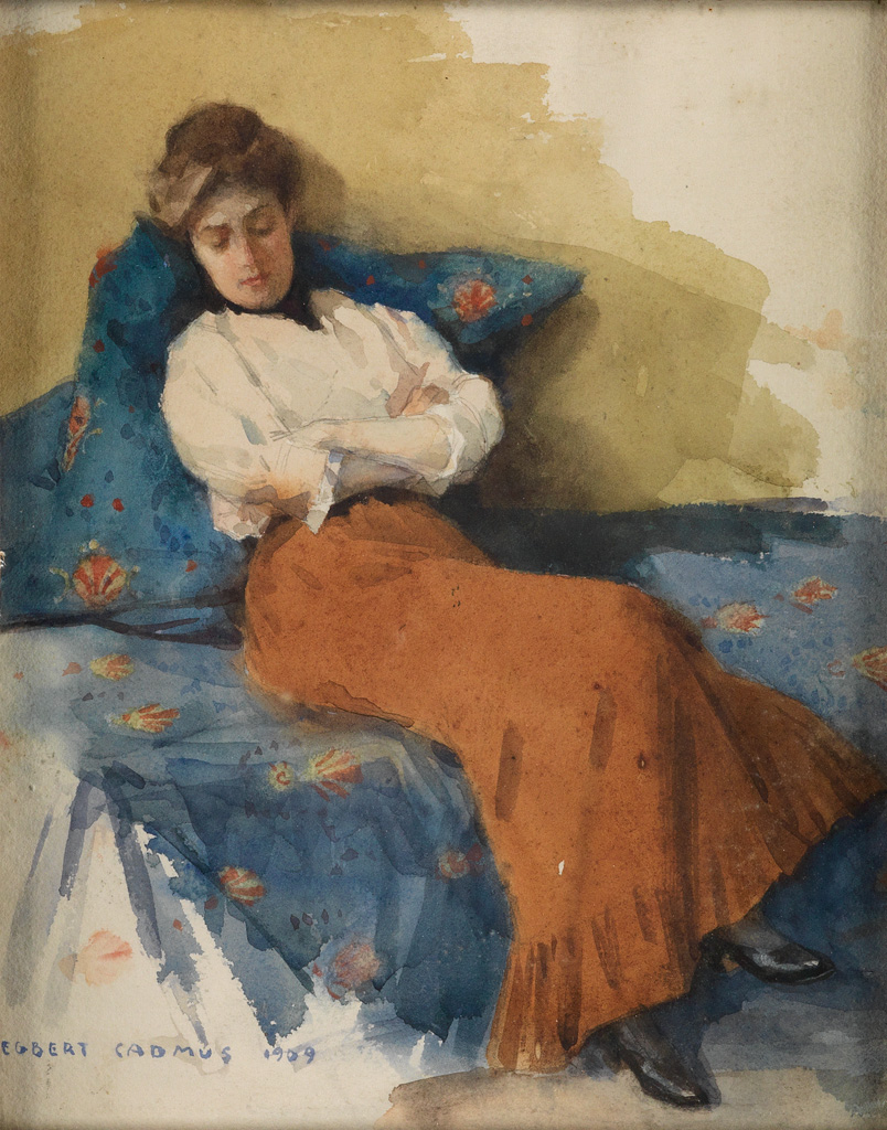 Maria Latasa Cadmus by Egbert Cadmus