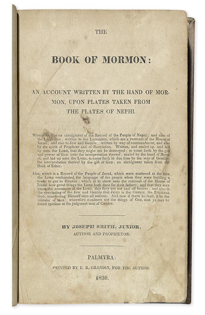 Printed & Manuscript Americana
