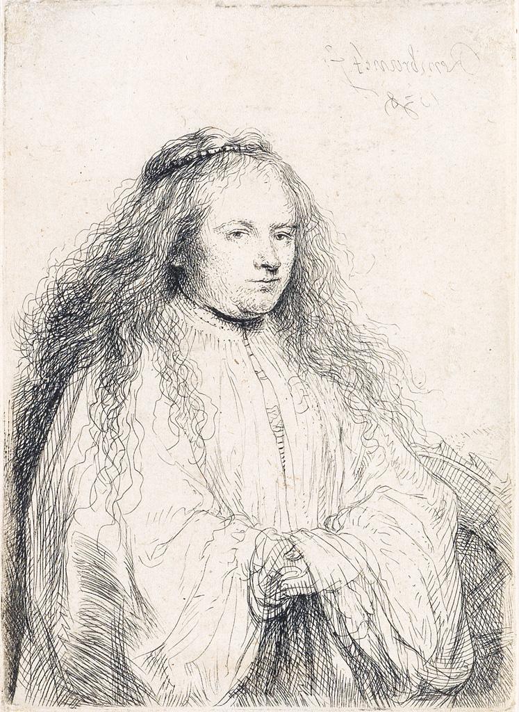 Rembrandt van Rijn, Little Jewish Bride