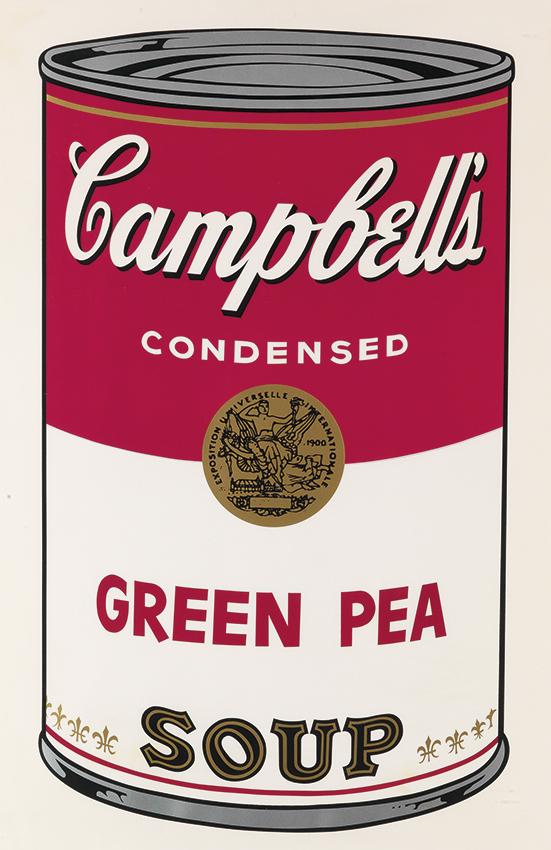 Warhol, Green Pea