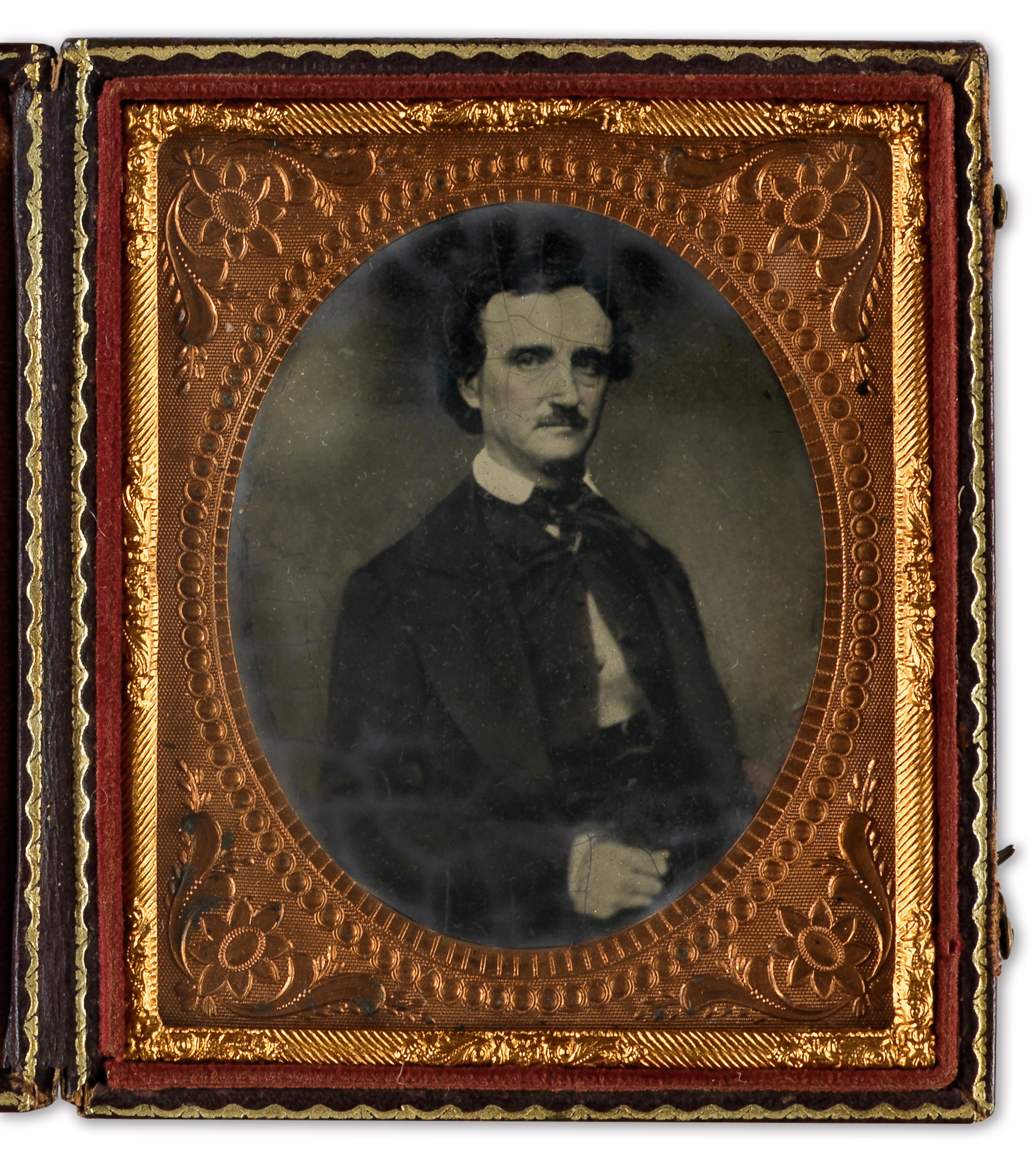 portrait of edgar allan poe