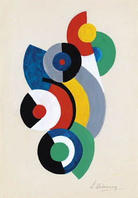 Sonia Delaunay - Rayonist Composition