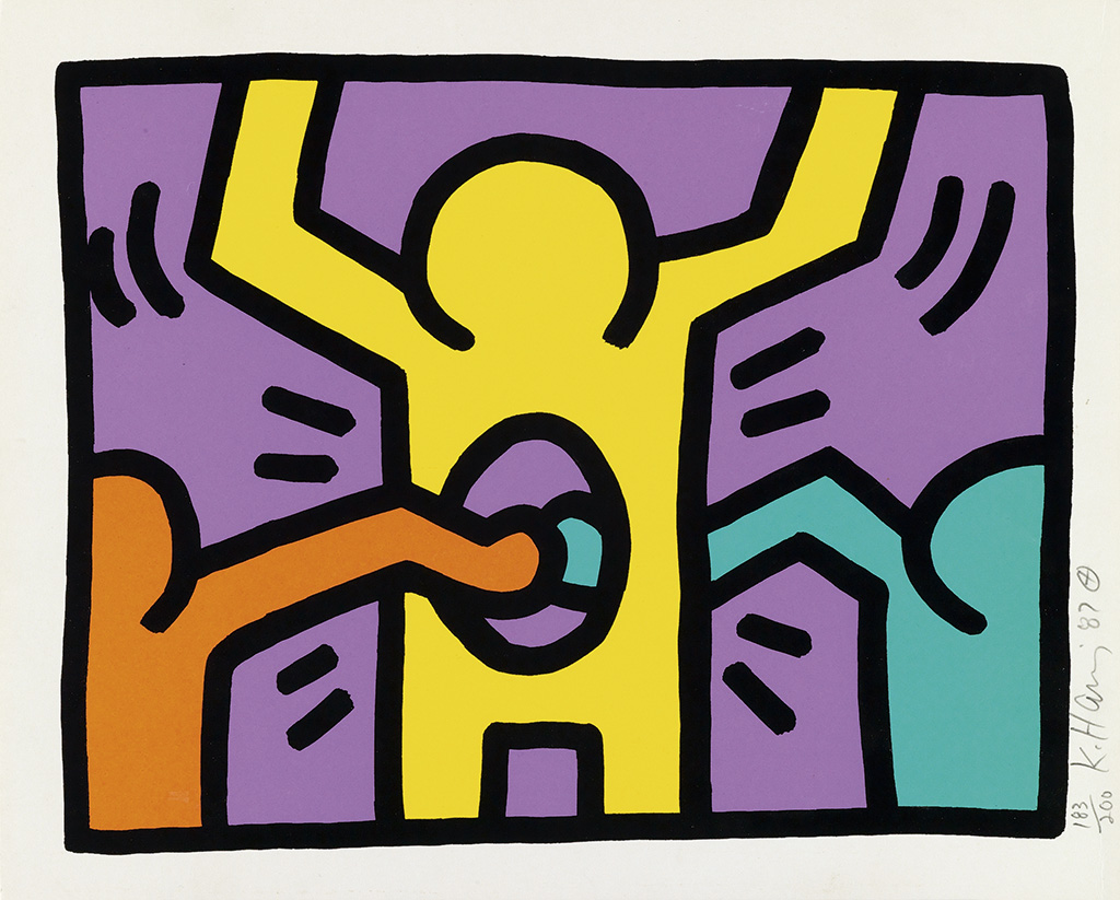 life and art of keith haring Find the latest shows, biography, and artworks for sale by keith haring bridging  the gap between the art world and the street, keith haring rose to prominen.