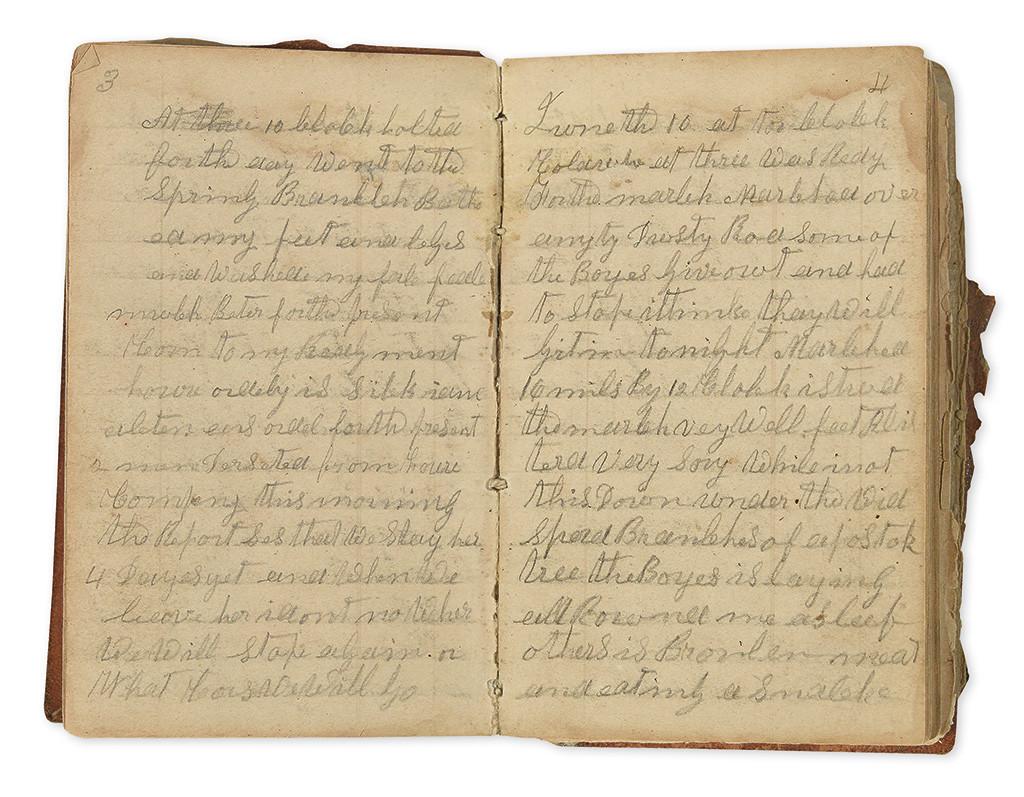 civil war diary