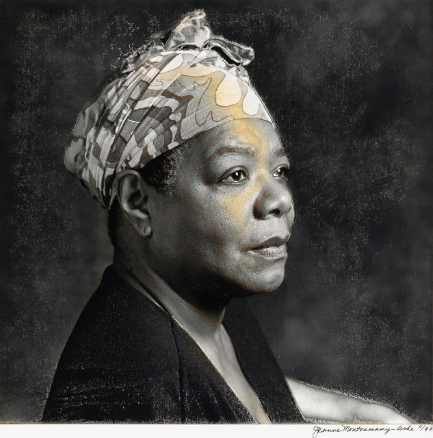 Maya Angelou by Jean Moutoussamy-Ashe