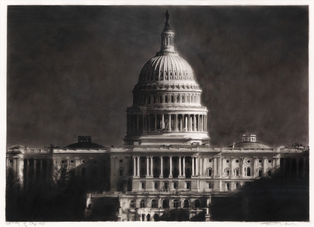 Robert Longo, Study of the Capitol