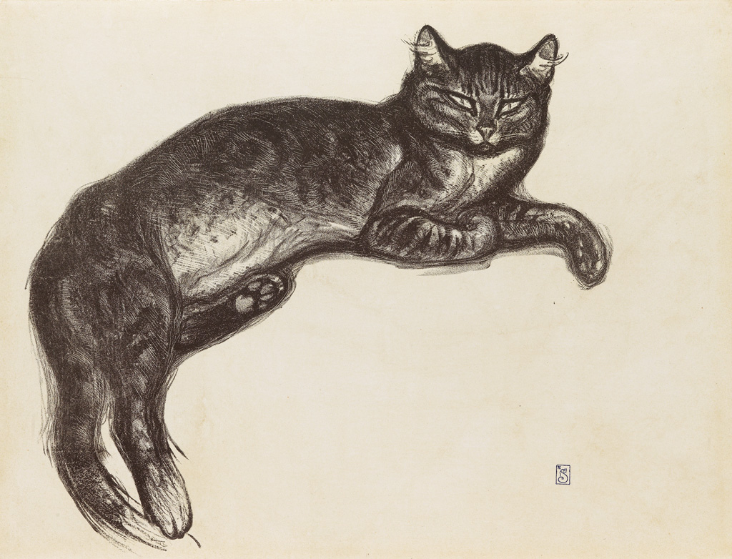 Theophile-Alexandre Steinlen, cat