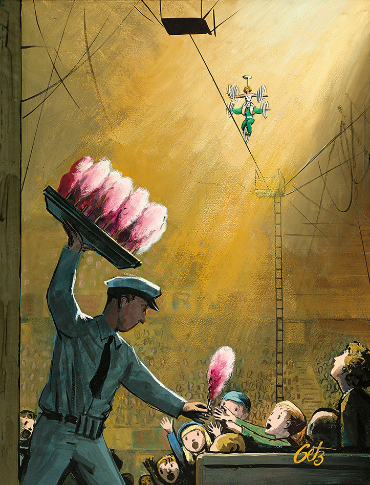 Arthur Getz, Cotton Candy At The Circus, The New Yorker