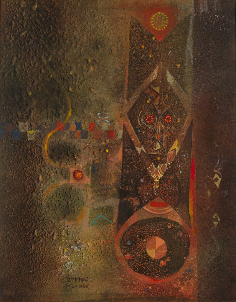 "Alexander ""Skunder"" Boghossian, Untitled (Abstraction),"