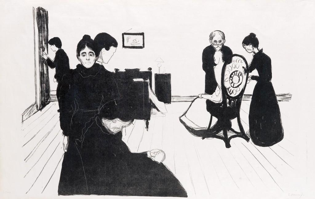 Edvard Munch, Der Tod im Krankenzimmer