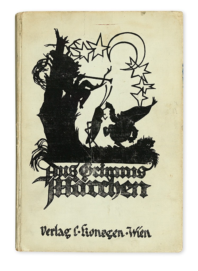 Anne and Margot Frank's copy of Grimm's Fairy Tales (Aus Grimms Märchen)