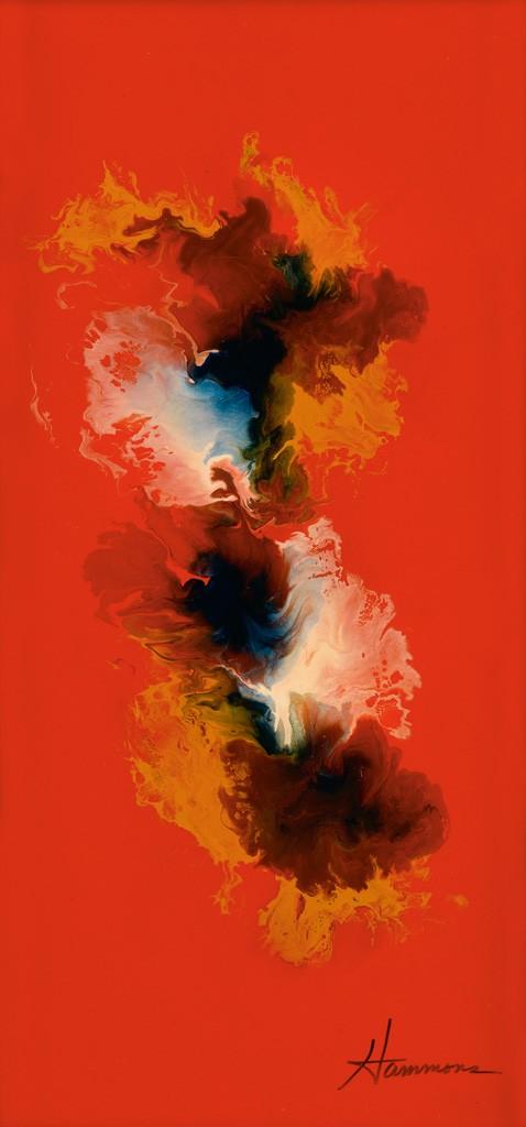 125: David Hammons, Untitled, enamel, circa 1972, Estimate $15,000 to $25,000.