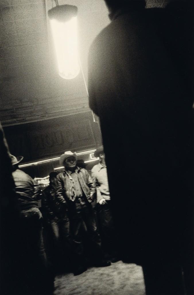 Lot 249: Robert Frank, Bar, Gallup, New Mexico, silver print,1956, printed circa 1970. Estimate $30,000 to $45,000.