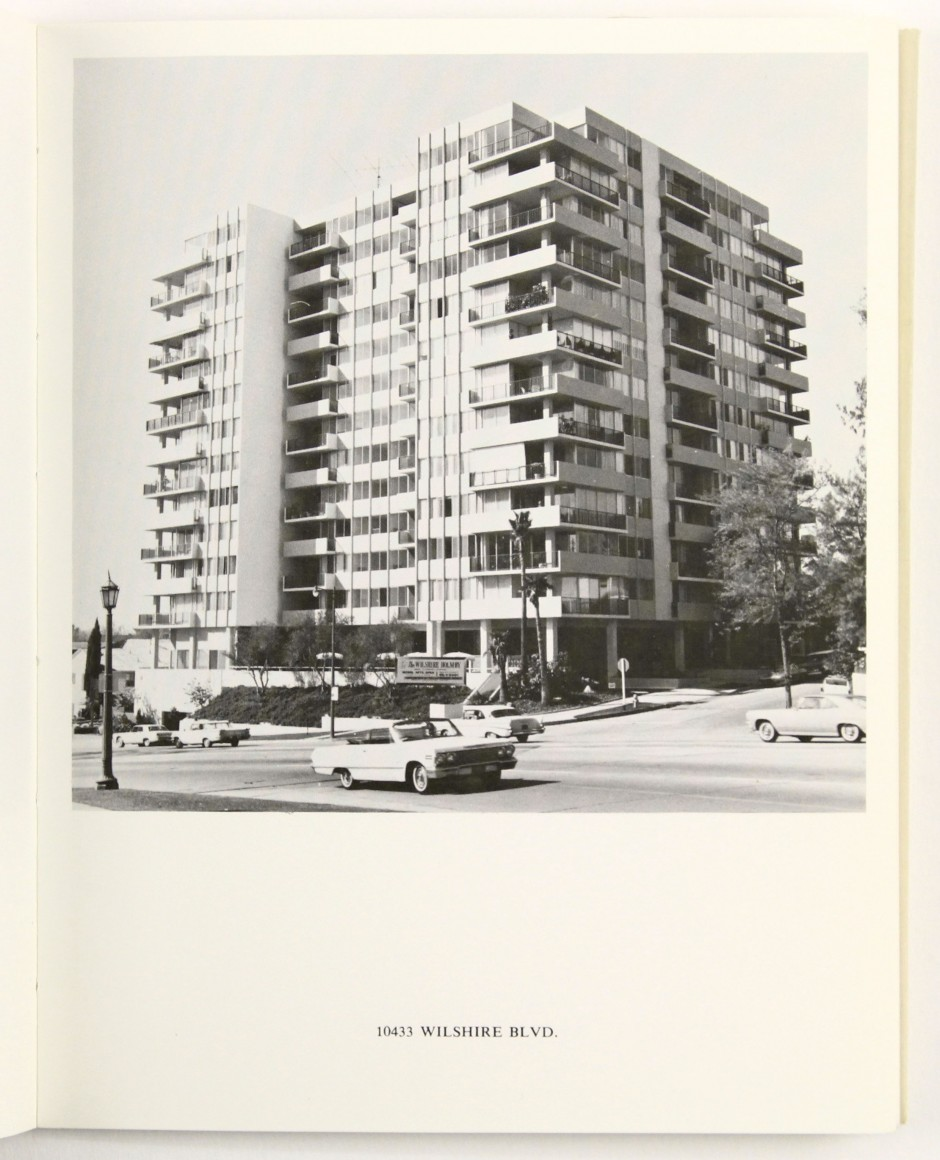 Lot 413: Ed Ruscha, xxx, one of fourteen photobooks, 19xx. Estimate $20,000 to $30,000.