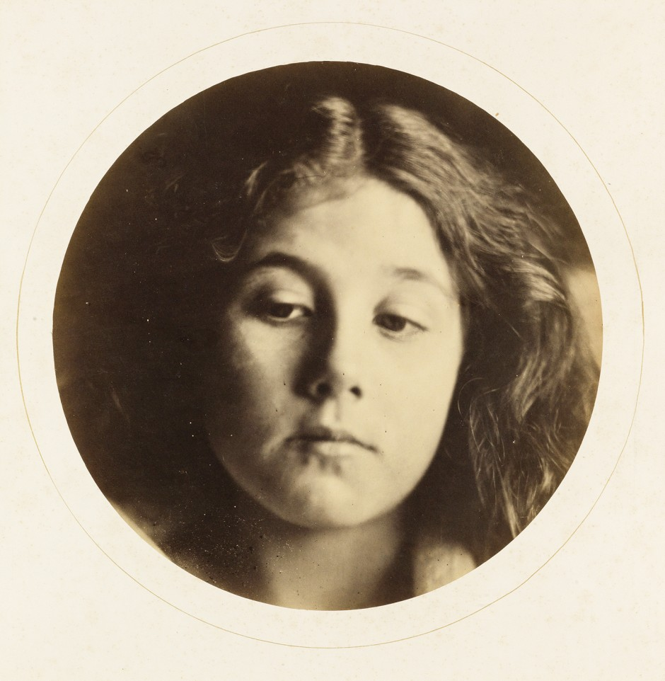 Lot 38: Julia Margaret Cameron, Portrait of Kate Keown, albumen print, 1866. Sold for $106,250.