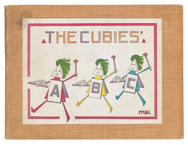 Lot 203: Mary Mills & Earl Harvey Lyall, The Cubies' ABC, New York & London, 1913. Estimate $7,000 to $10,000.