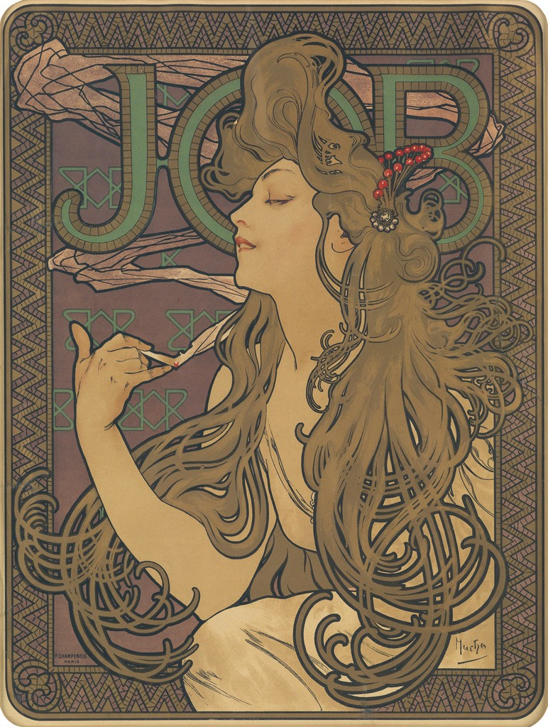Lot 83: Job, 1896. Estimate $15,000 to $20,000.