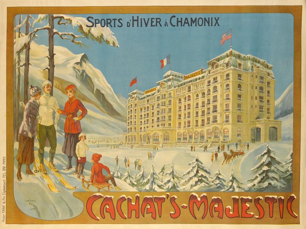 ski posters swoosh into swann swann galleries news