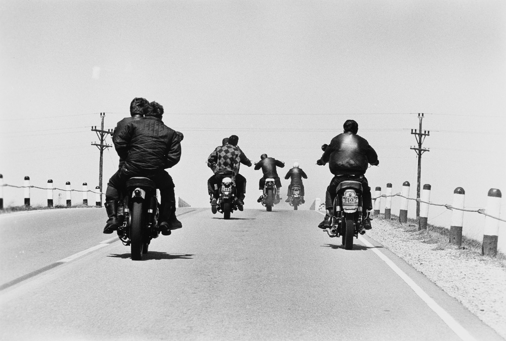 Lot 199: Danny Lyon, Truckin' in the desert near Yuma, Arizona, 1962, from Danny Lyon, complete portfolio with 30 photographs, silver prints, New York, 1962-79, printed 1979. Estimate $30,000 to $45,000.