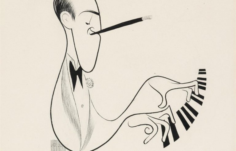 Happening July 13:  Al Hirschfeld Seen Through Six Drawings