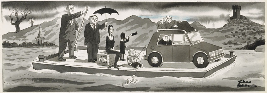 About Charles Addams