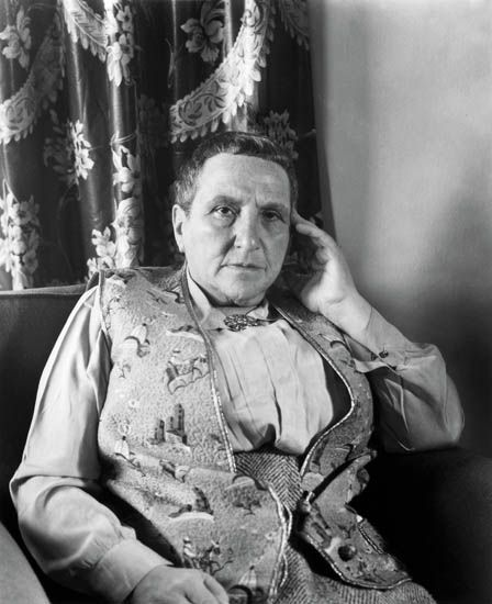Gertrude Stein by picasso