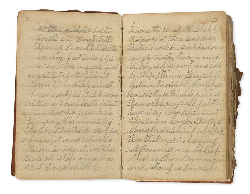 Civil War Diary of James F. Holloway, a Tennessee Sergeant ...